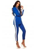 Синие брюки с лампасами MF8090 (108090) - оригинальная одежда, 2