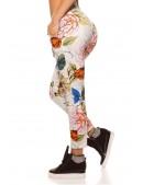 Хлопковые джоггеры с цветочным рисунком (108097) - 3, 8