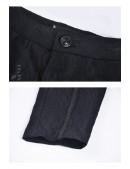 Брюки с жаккардовым узором и вышивкой спереди D8114 (108114) - 5, 12