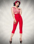 Красные брюки в стиле Ретро (108054) - foto