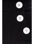 Широкие брюки с карманами и высоким поясом (108061) - 4, 10