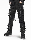 Мужские брюки с пряжками (207001) - foto