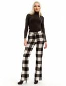 Теплые брюки-клеш (108049) - 4, 10