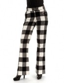 Теплые брюки-клеш (108049) - foto