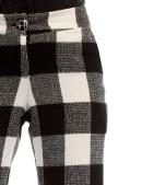 Теплые брюки-клеш (108049) - 3, 8