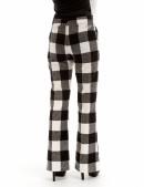 Теплые брюки-клеш (108049) - оригинальная одежда, 2