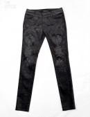 Узкие черные брюки Punk Rave (108052) - цена, 4