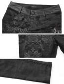 Узкие черные брюки Punk Rave (108052) - 5, 12