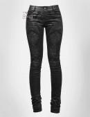 Узкие черные брюки Punk Rave (108052) - foto