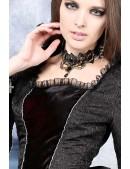 Винтажное ожерелье-чокер XJ6218 (706218) - цена, 4