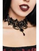 Винтажное ожерелье-чокер DL6236 (706236) - foto