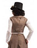 Жилетка женская Steampunk Retro X1016 (131016) - оригинальная одежда, 2