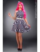 Платье Candy Girl с поясом и шляпкой (105437) - foto