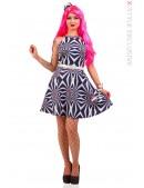 Платье Candy Girl с поясом и шляпкой (105437) - 3, 8