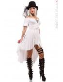 Белое пиратское платье X-Style (105438) - foto
