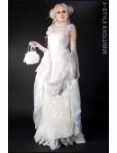 Свадебное платье Викторианской эпохи (125025) - foto