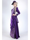 Прогулочное платье в стиле конца 19 ст. (125028) - цена, 4