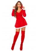 Красное новогоднее платье KC7174 (127174) - 4, 10