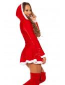 Красное новогоднее платье KC7174 (127174) - цена, 4