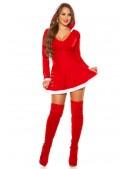 Красное новогоднее платье KC7174 (127174) - оригинальная одежда, 2