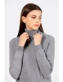 Серый меланжевый свитер XC1031 (141031) - foto
