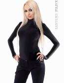 Черная водолазка женская 101107 (101107) - foto