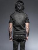 Мужская джинсовая рубашка (202006) - оригинальная одежда, 2