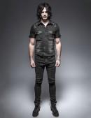 Мужская джинсовая рубашка (202006) - цена, 4