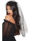 Черная фата невесты (504211) - оригинальная одежда, 2
