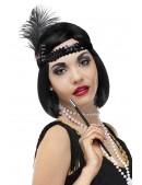 Повязка для волос в стиле 20-х XT4221 (504221) - оригинальная одежда, 2