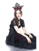 Корона с розами CC4225 (504225) - оригинальная одежда, 2