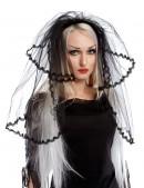 Черная фата невесты (504211) - foto