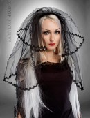 Черная фата невесты (504211) - цена, 4