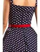 Ремень красный женский (3 см) (910021) - оригинальная одежда, 2