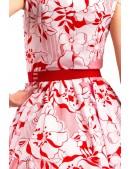 Женский красный ремень-резинка XA022 (910022) - оригинальная одежда, 2