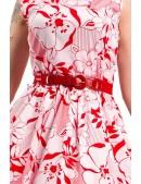 Женский красный ремень-резинка XA022 (910022) - foto