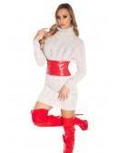 Красный ремень-корсет MF026 (910026) - оригинальная одежда, 2
