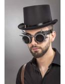 Мужская шляпа-цилиндр и гогглы CC1147 (501147) - оригинальная одежда, 2