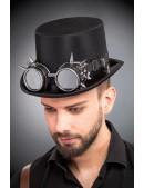 Мужская шляпа-цилиндр и гогглы CC1147 (501147) - foto