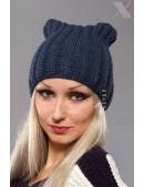Зимняя шапка с ушками кошки XA2050 (502050) - foto