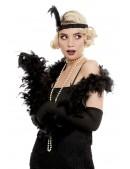 Черное боа из перьев XTC210 (714210) - оригинальная одежда, 2