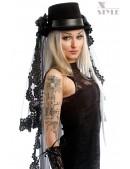 Шляпа-цилиндр со съемной фатой Xstyle (501019) - foto