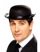Шляпа-котелок черная Cosplay Couture (501140) - foto