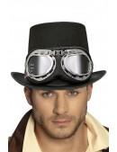 Шляпа-цилиндр Steampunk Retro CC42 (501142) - foto