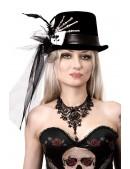 """Женская шляпа """"Рука скелета"""" XA143 (501143) - оригинальная одежда, 2"""