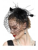 Вечерняя шляпка с вуалью Artistic (502016) - цена, 4