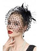 Вечерняя шляпка с вуалью Artistic (502016) - оригинальная одежда, 2
