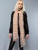 Длинный женский шарф (хлопок) (714207) - оригинальная одежда, 2