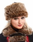 Женская меховая шапка (502057) - foto