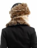 Женская меховая шапка (502057) - оригинальная одежда, 2